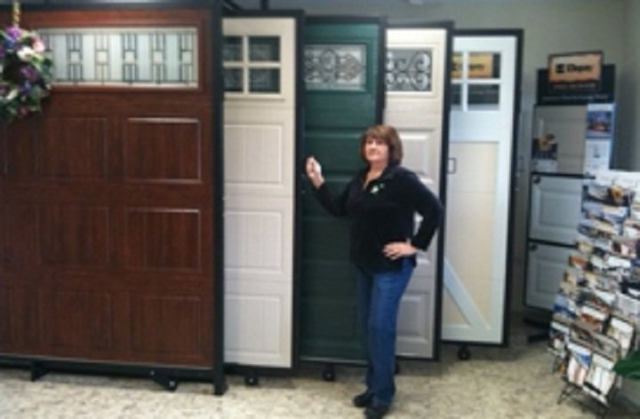 Inside Of Affordable Garage Door Service Showroom
