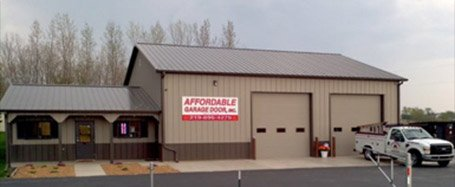 Storage Facility for Garage Door Parts at Lowell Affordable Garage Doors Warehouse