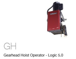 Commercial Garage Door Opener Gearhead Hoist Operator