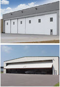 Commercial Garage Doors - Hanger Doors