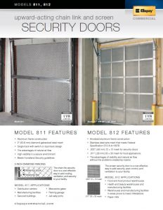 Commercial Garage Doors - Security Doors