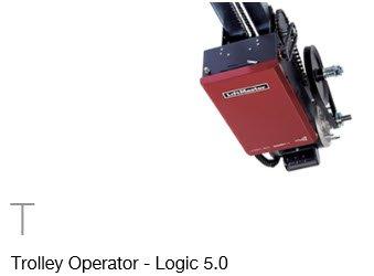 commercial garage door opener trolley operator