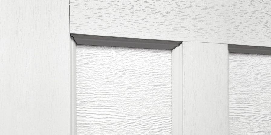 garage door detail concept for garage door company in crete