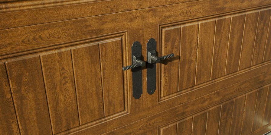garage door handle detail when you need help fixing broken garage door look to cedar lake garage door company to help