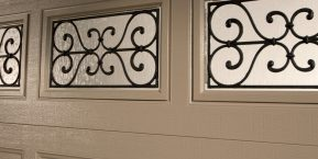 windows in garage door concept for garage door ideas in crete contact garage door company