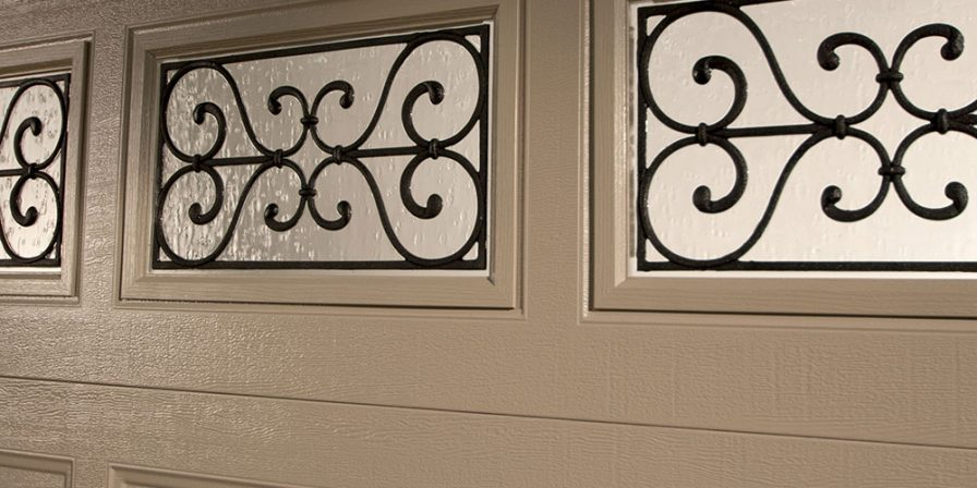 window panel in garage door if needing ideas for the latest trends in garage doors from NW Indiana garage door company