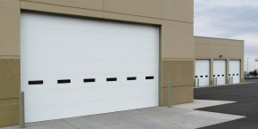 commercial garage doors for garage door service company in lake of the four seasons