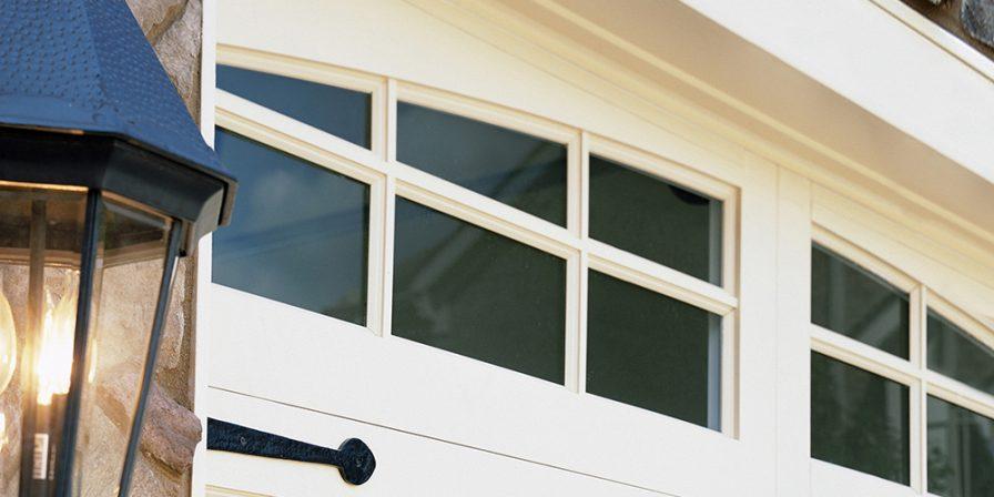windows in garage door image for skilled garage door repair company in cedar lake