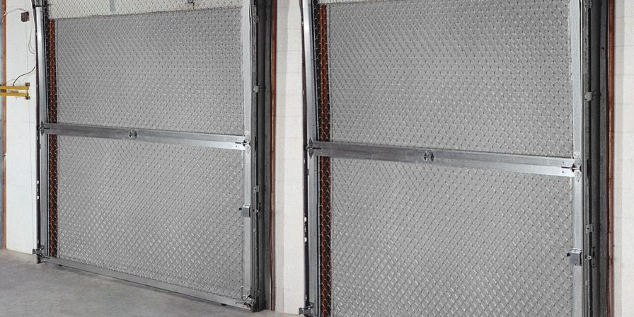 inside view of doors if needing garage door maintenance to prep for season contact a skilled garage door company in monee