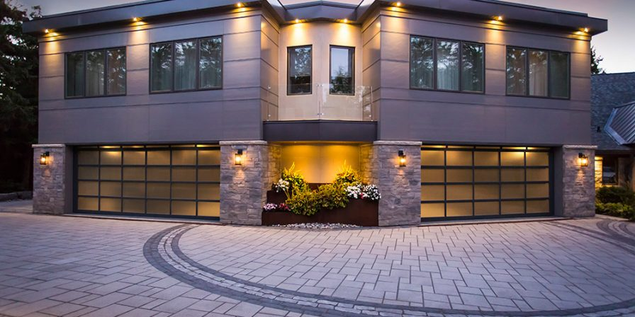 brick driveway to garages for the latest trends in garage doors look to reputable Kouts garage door company