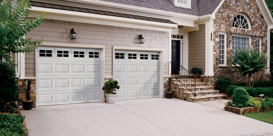 garage door image for reputable garage door repair workers in st john