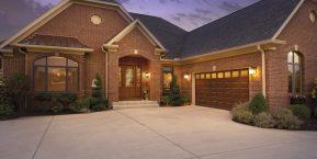 new home concept for researching latest trends in garage doors contact merrillville garage door company