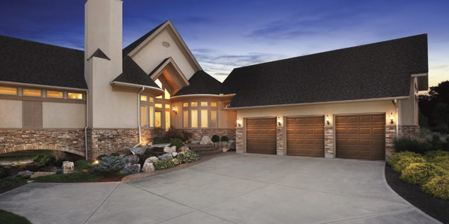 driveway to garage contact an experienced garage door installer in Schneider