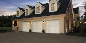 attached garage on house concept for garage door replacement company in hebron