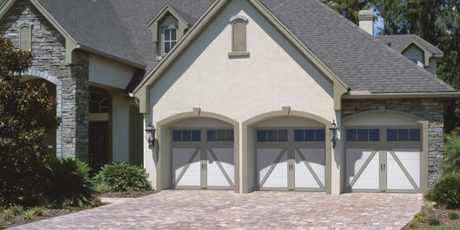 three car garage concept for garage door replacement company in kouts