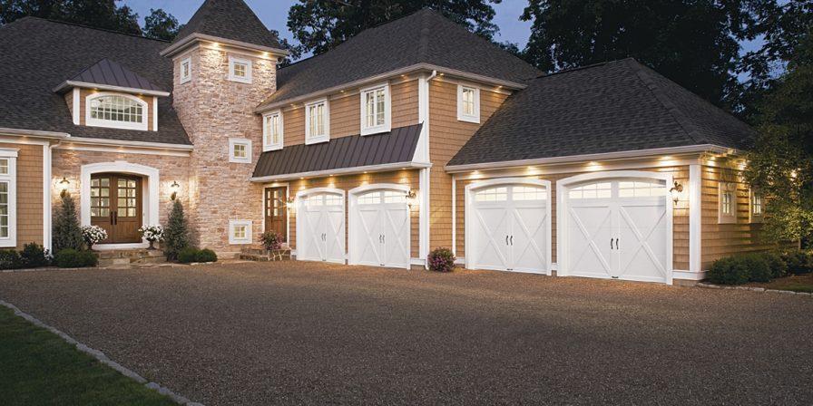 four car garage image for skilled garage door company looking to install garage door in demotte