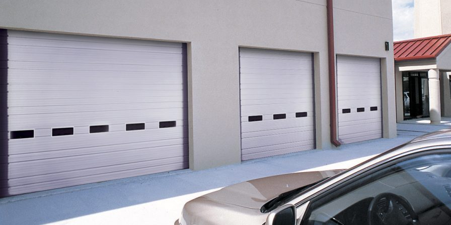 commercial doors image for experienced garage door company in crete