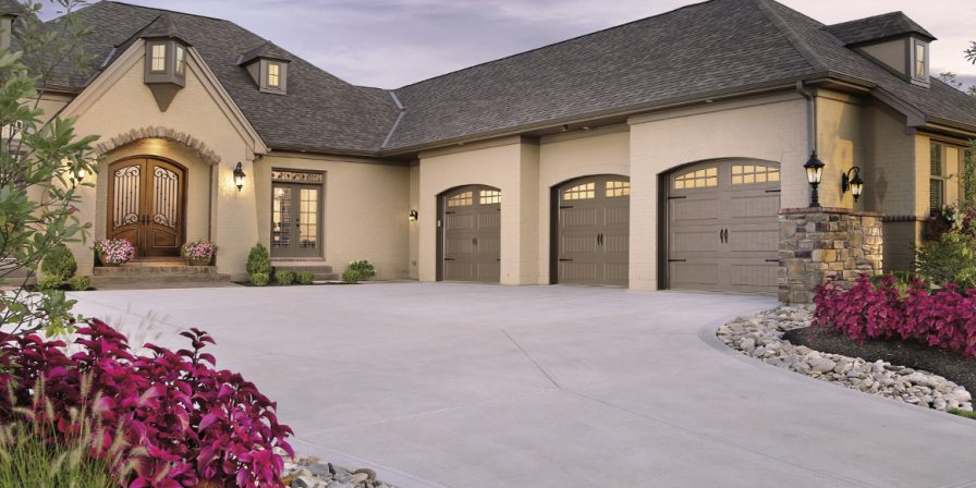 three garages needing repair from high ranking garage door repair company in Kouts