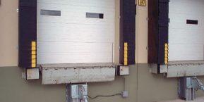 loading dock doors we carry garage doors for business warehouse contact a reliable Lake county garage door company