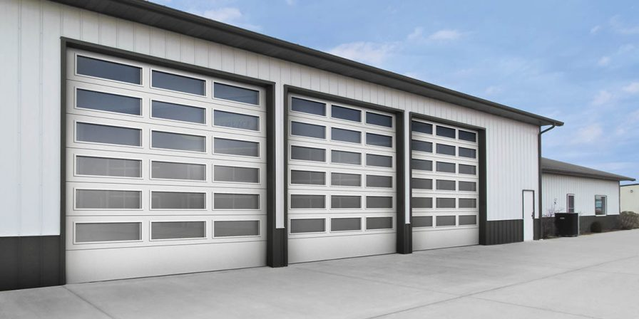 warehouse garage doors image for your store's garage doors look to skilled garage door replacement company in demotte
