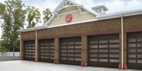 fire station garages image for broken garage door springs contact hebron garage door repair service company