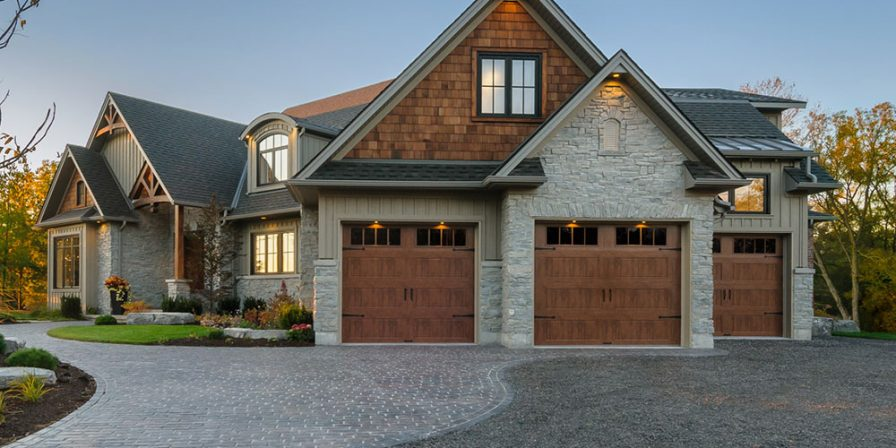 custom three car garage if seeking an experienced garage door company in Lake County
