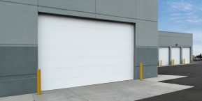 commercial door image for reputable garage door installer in Griffith