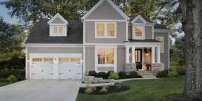 two car garage for new home garage door installation in griffith from skilled workers