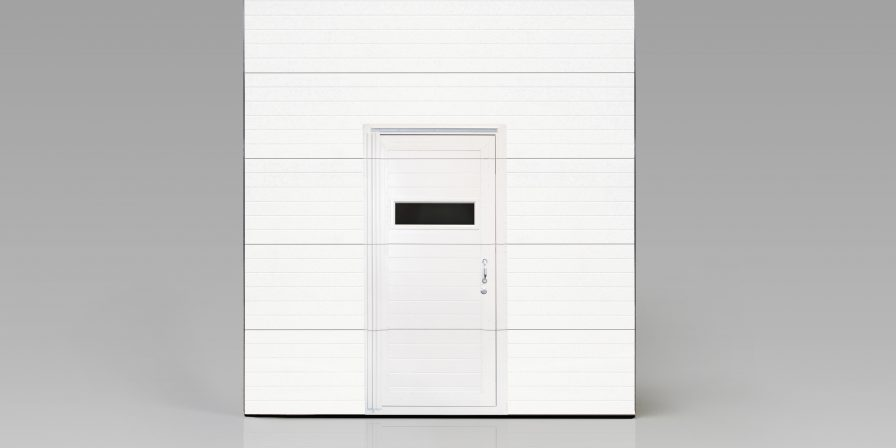 garage door with door inset if need garage door with special features for your business contact an experienced garage door installation company in schererville