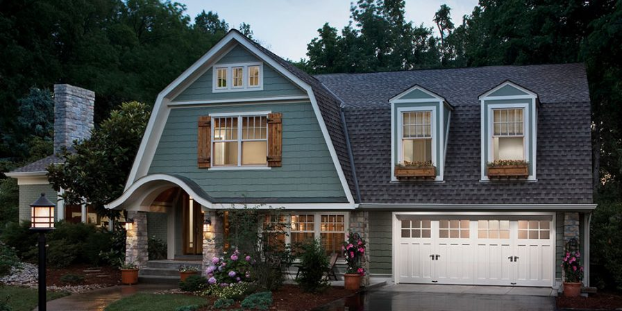 house with attached garage concept if looking for experienced garage door installation company in peotone