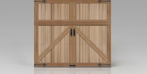 custom wooden garage door image for new home garage door installation company in schererville