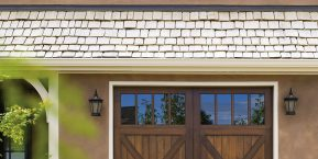 wooden garage door concept for garage door installation in peotone